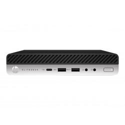 HP EliteDesk 800 G5 - Mini bureau - Core i5 9500 / 3 GHz - RAM 8 Go - SSD 256 Go